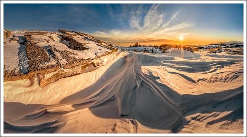 Sepolta dalla neve